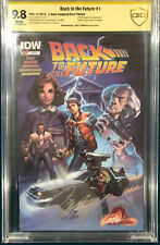 BACK TO THE FUTURE #1 CBCS 9.8 J. Scott Campbell SIGNED Comic CGC