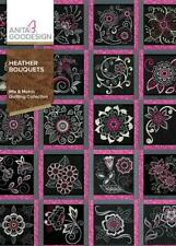 Heather Bouquets Anita Goodesign Embroidery Design Machine Cd