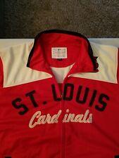 Men's Carl Banks Full Zip St Louis Cardinals Jacket Size M