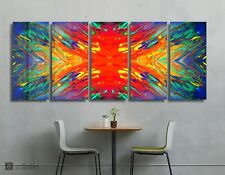 Colorful Metal Wall Art Decor Ready to Hang