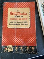 The Betty Crocker Guide to Pressure Cooking Cook Book & Quick Saucepan Tag