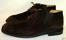 MEZLAN MENS BROWN SUEDE ANKLE BOOTS Size 11M  MS