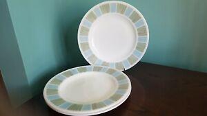 Pyrex Matchmaker Dinner Plates X3 10in