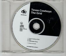 (HJ199) Texas Cowboys, The Grid - 1993 DJ CD