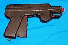 Vintage Paper Pop Air Gun Toy Cap Pistol Old Pressed Metal Kid's Pneumatic Tin