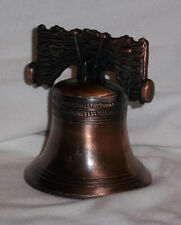 Liberty Bell Replica Handsomely Cast With Ringer Show American Pride Very Nice