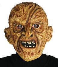 Adulto Aterrador Quemado Hombre Pesadilla Mask Halloween Horror Freddy Disfraz
