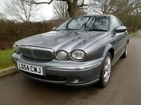 JAGUAR X-TYPE SE 2.0 DIESEL SALOON IN SUPERB CONDITION LEATHER/CRUISE 2004