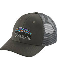 Patagonia Mens Fitz Roy Bear Trucker Hat Forge Grey #38200