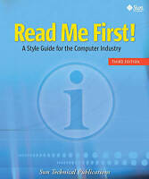 Read Me First! A Style Guide for the Computer Industry, Third Edition-ExLibrary