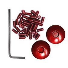 DMR Protettore MY (V12) BMX / MTB / downhil PEDALS in rosso (piedini / estremità)