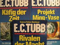 Taschenbuch von E.C.Tubb 3 verschiedene Science Fiction Abenteuer