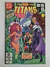 The new teen titans 23 first blackfire appearance 1982