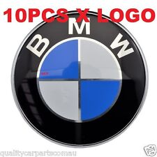 10 x Bonnet Boot trunk Hood Badge Emblem Logo 82mm fit BMW E36 E46 E39 X5 ETC