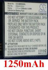 Batería 1250mAh tipo EB445163VU Para Samsung GT-S7530 Omnia M