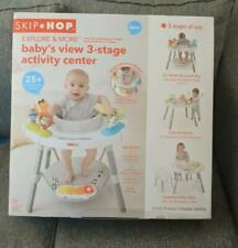 Skip Hop Explore and More Baby's View 3-Stage Interactive Activity Center,