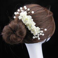 flores NOVIA DE LA NOVIA haircomb haarstecker Tiaras Adorno Para Cabello