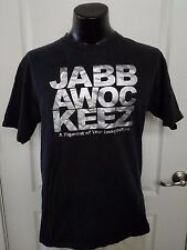 Jabbawockeez Figment of Your Imagination Black T Shirt Unisex XL Silver Rare