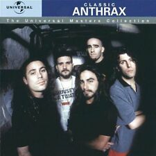 ANTHRAX - BEST CLASSIC ANTHRAX CD - Thrash Metal - New Not Sealed