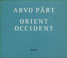 ARVO PART  orient & occident