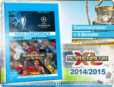 Adrenalyn Champions League 2014/2015 Mega Starter pack viga reticulada Book Panini 14/15
