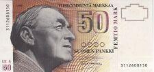 FINLANDE : ASSEZ RARE 50 MARKKAA 1986 (1991) NEUF LETTRE A - P.118