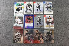 Lot of 12 Original Pheonix Coyotes Hockey NHL Cards Signed Autograph