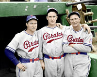 Lloyd Paul Waner Vaughan 8X10 - 1939 Pirates COLORIZED - Buy Any 2 Get 1 Free