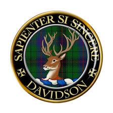 Davidson Scottish Clan Pin Badge