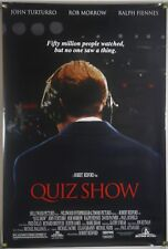 QUIZ SHOW DS ROLLED ORIG 1SH MOVIE POSTER RALPH FIENNES JOHN TURTURRO (1994)