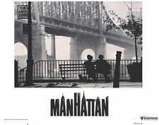 MANHATTAN Movie POSTER 11x14 Woody Allen Diane Keaton Meryl Streep Mariel