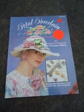 Petal Porcelain Fashion Jewelry and Accessories Chris Williams Plaid #8468 1989