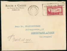 MayfairStamps France 1933 Paris to Rhein Germany Cover WWH34945