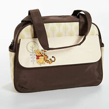 WINNIE THE POOH Disney Large Appliqued Nappy Diaper Satchel Bag NEW WITH DEFECT