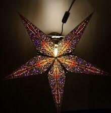 12er LED Stern Lichterkette fü Faltstern//Weihnachtsstern Batteriebetrieb /& Timer