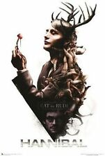 HANNIBAL - EAT THE RUDE - TV SHOW POSTER - 24x36 3216