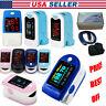 US Seller,Finger Pulse Oximeter,SPO2 Blood Oxygen Monitor,Pulse Heart Rate Meter