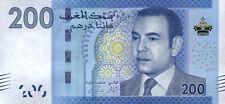 Marokko / Morocco 200 Dirhams 2012 Pick 77 (1)