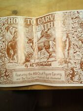 Al Stohlman How To Carve Leather Book