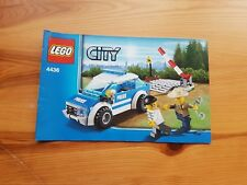 Lego City - 4436 - Instruction manual only. In 'fair' pre-owned condition.