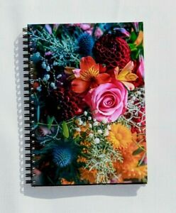A5 Hardback Notebook Journal Notepad Office School Diary Various