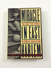 Miracle in East Harlem - Seymour Fliegel, James MacGuire (1993, HC, DJ, 1st Ed.)