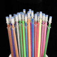 48PCS/Set Multicolor Gel Ink Fluorescence Pen Refills Painting Stationery