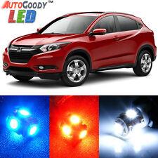 Premium Xenon White LED Lights Interior Package Kit for Honda HRV HR-V + Tool