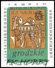 Poland Brewery Lublin Grodzkie Beer Label Bieretikett Etiqueta Cerveza lu33.1