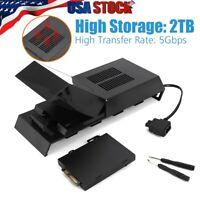 2TB Hard Drive External Box For PS4 Internal Memory Extra Storage Data Bank US