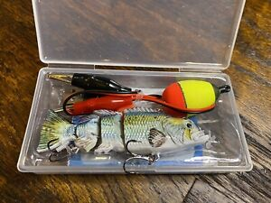 Rechargeable USB Robotic Swimbait Fishing Lure, 3.75 inch, 1 ounce, must try!