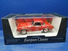 ERTL EUROPEAN CLASSICS MERCEDES BENZ 190 SL COUPE  ERTL 1:18 SCALE