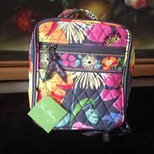 NWT Vera Bradley Lunch Break in Jazzy Blooms Bag Case Box ID window 12471 138 BC