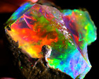 Unheated 100% Natural Fire Opal Play Of Color AGL Certified Excellent Fire Rough
